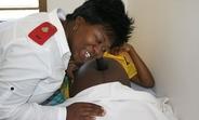 Swazi nurse midwife