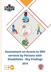 Assessment on access to SRH services by persons with disabilities study